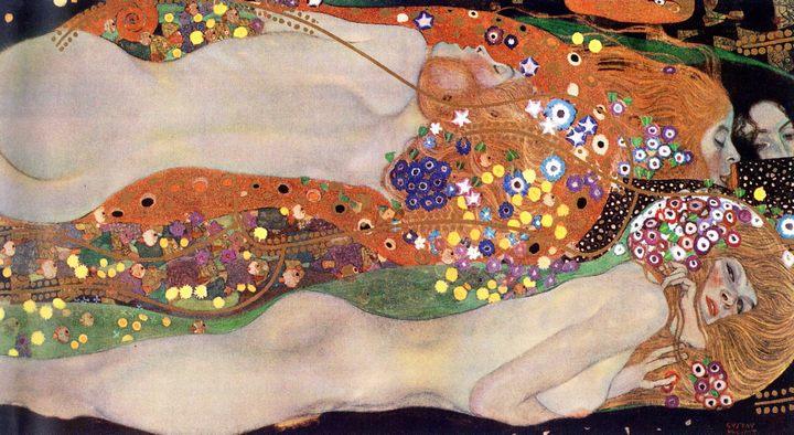 Водяные змеи II :: Густав Климт, описание картины  - Gustav Klimt фото