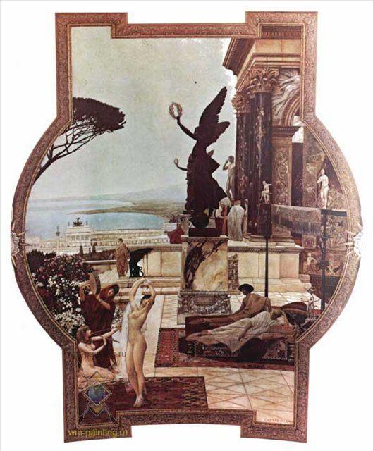 Театр Таормина :: Густав Климт - Древний Рим и Греция, Египет фото