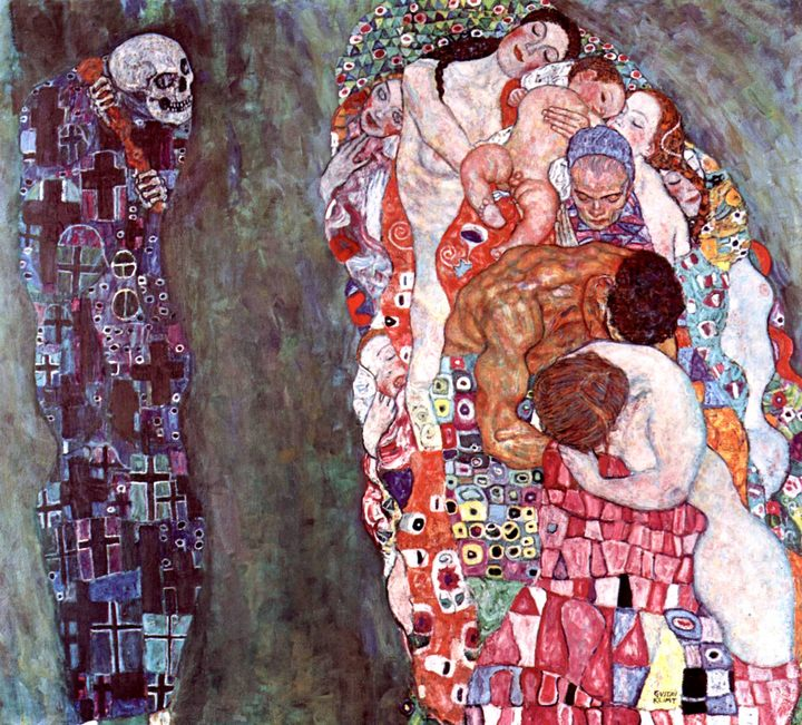 Жизнь и смерть :: Густав Климт, описание картины  - Gustav Klimt (Климт Густав ) фото