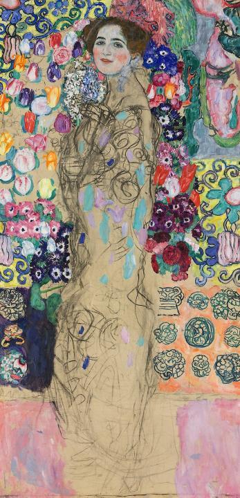 Портрет Марии Мунк :: Густав Климт - Gustav Klimt фото