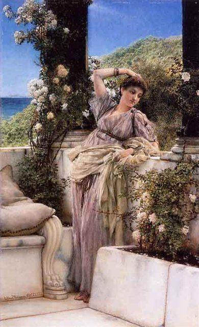 картина Роза из роз :: Альма-Тадема - Цветы и натюрморты - картины художников прошлых веков фото