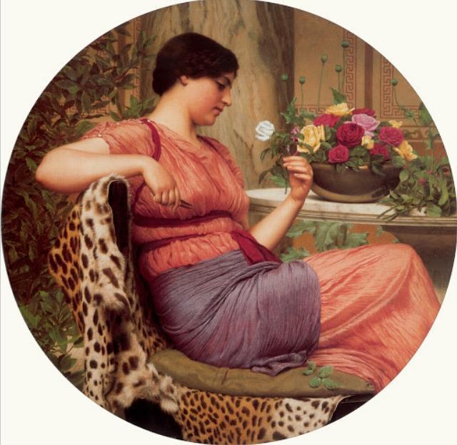 Время роз :: Годвард Джон - Цветы и натюрморты - картины художников прошлых веков фото