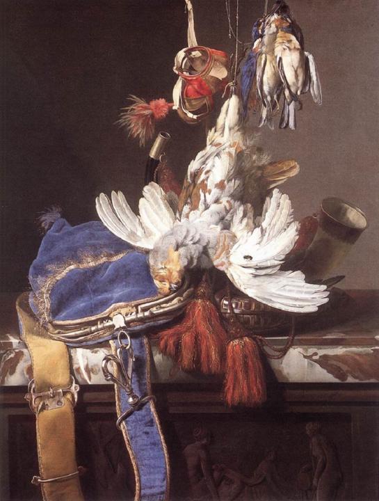 Охотничий натюрморт :: Вильям ван Аелст - Жанровые сцены фото