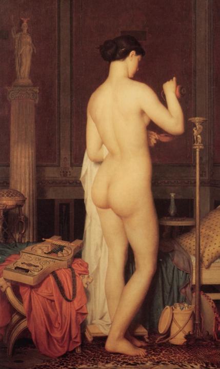 Вечерний таулет Сафо :: Чарльз Глир, картина ню, эротика в живописи  - Картины ню, эротика в шедеврах живописи фото