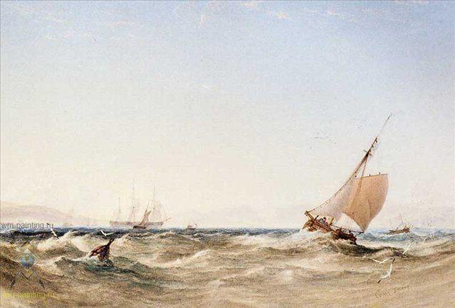 Прочь от берега :: Антоний ВанДейк Капли - Море в живописи ( морские пейзажи, seascapes ) фото