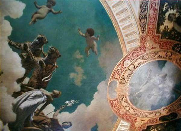 Роспись потолка на вилле Гермес :: Ханс Макарт - Античная мифология фото