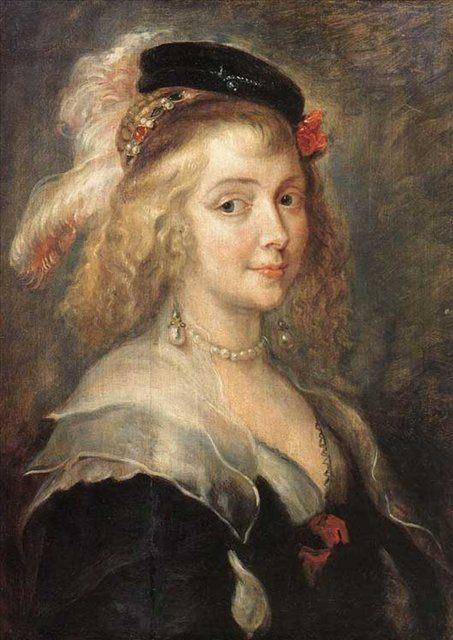 Портрет Елены Фурман :: Питер Пауль Рубенс, описание картины - Peter Paul Rubens фото