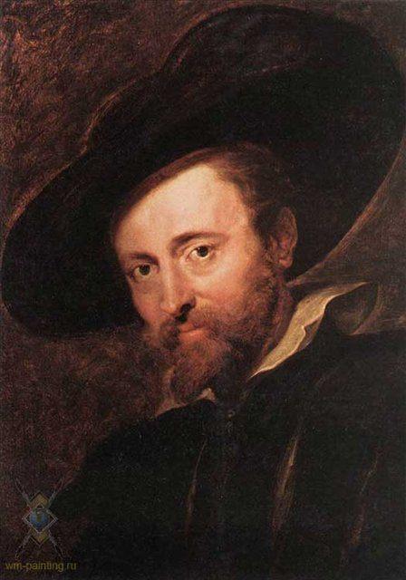 Автопортрет :: Рубенс - Peter Paul Rubens фото