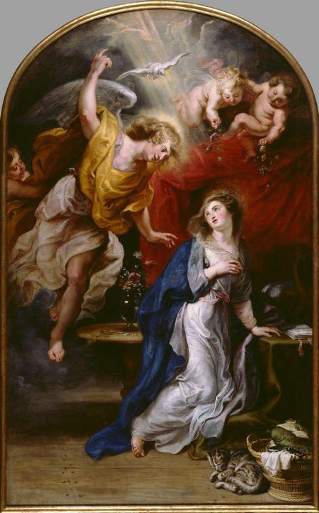 Благовещение :: Питер Пауль Рубенс - Религиозные сюжеты в живописи фото