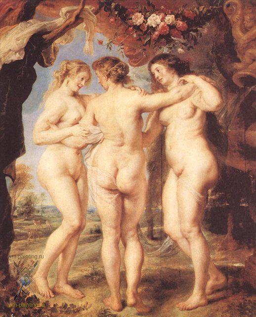 Три грации :: Питер Пауль Рубенс - Peter Paul Rubens фото