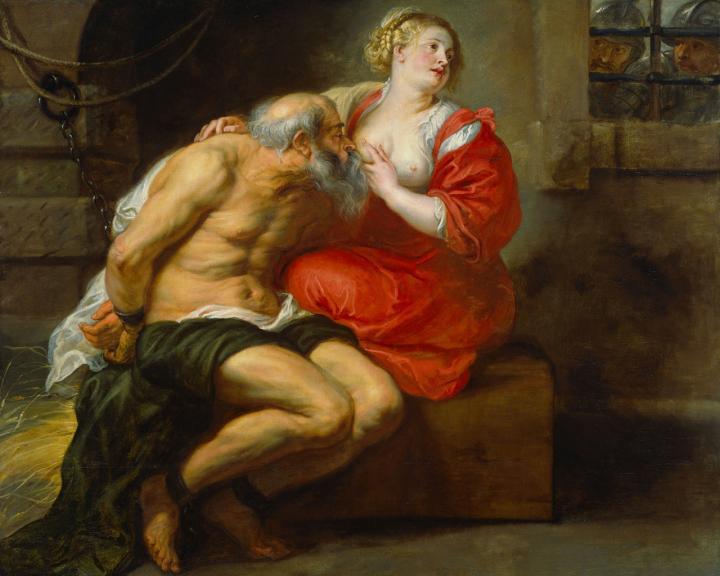 жанровая картина Симон (Цимон) и Перо :: Питер Пауль Рубенс - Peter Paul Rubens фото