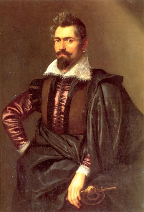 мужской портрет Каспара Сциоппиюса :: Питер Пауль Рубенс - Peter Paul Rubens фото