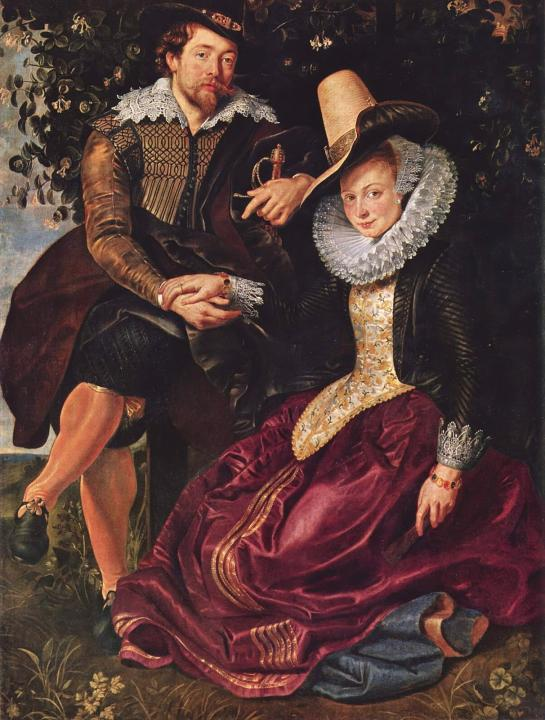 семейный Автопортрет с Изабелой Брандт :: Питер Пауль Рубенс - Peter Paul Rubens фото