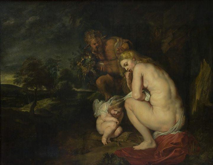 картина с описанием Замёрзшая Венера :: Питер Пауль Рубенс - Peter Paul Rubens фото