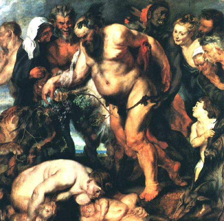 картина Пьяный Силен :: Питер Пауль Рубенс - Peter Paul Rubens фото
