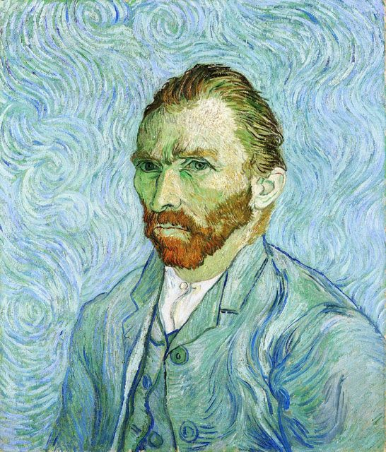 Автопортрет :: Ван Гог, описание картины - Van Gogh фото