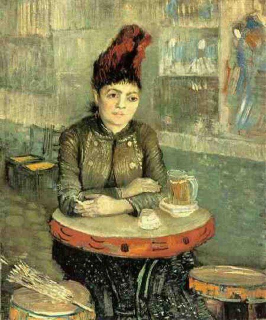 портрет Августина Сегатори в кафе Тамбурин :: Ван Гог, картина - Van Gogh (Ван Гог) фото