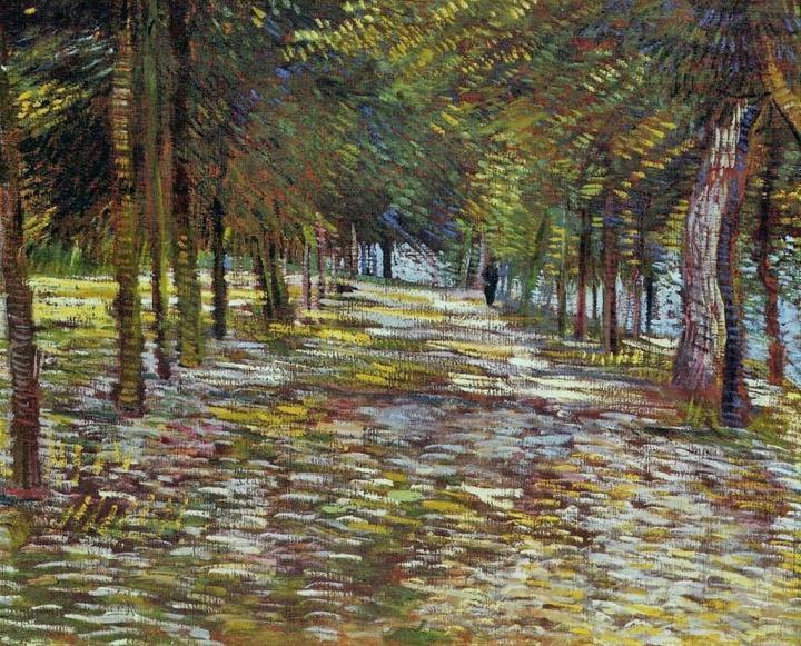 "пейзаж ""Дорожка в парке""  :: Ван Гог - Van Gogh фото"