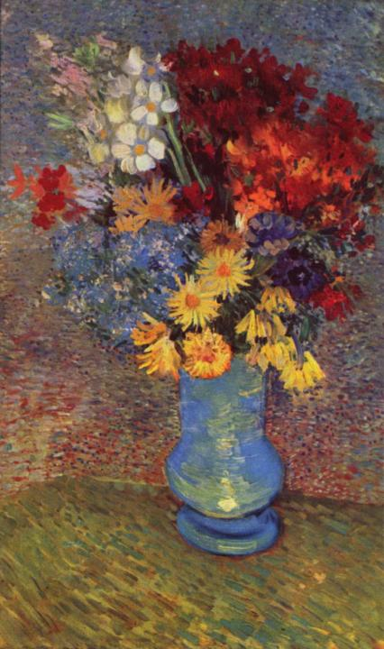 Натюрморт в вазе из маргариток и ветрениц :: Ван Гог - Van Gogh фото