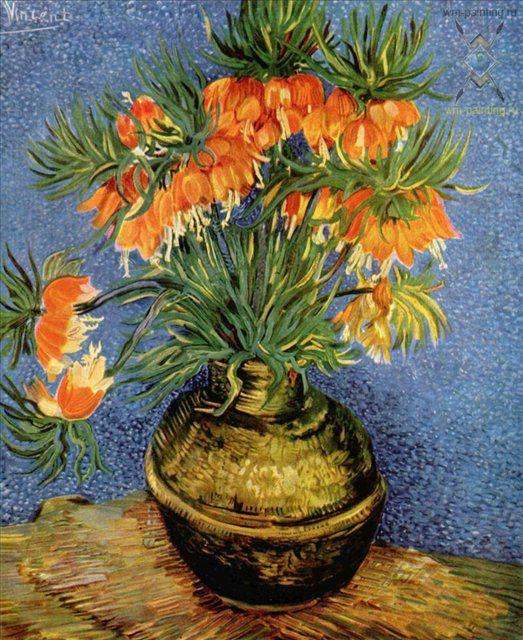 Натюрморт с императорскими коронами в бронзовой вазе :: Ван Гог - Van Gogh фото
