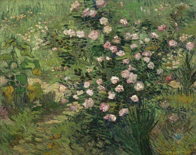 Розы :: Ван Гог - Van Gogh фото