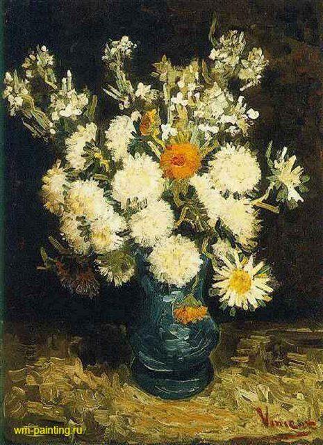 Цветы в голубой вазе :: Ван Гог - Van Gogh фото