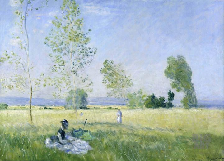 картина Весна :: Клод Моне - Claude Monet фото