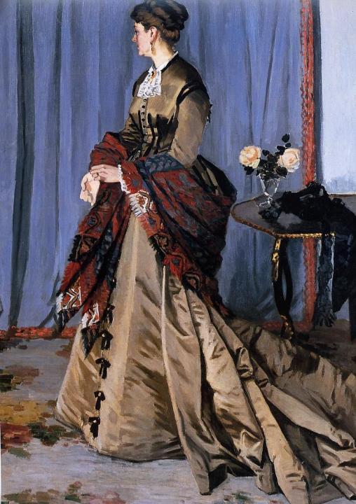 Портрет Мадам Гудиберт :: Клод Моне, описание картины - Claude Monet фото
