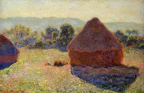 Стог сена в солнечный полдень :: Клод Моне - Claude Monet фото