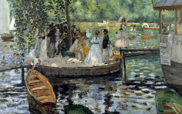 Лягушатник :: Клод Моне - Claude Monet фото
