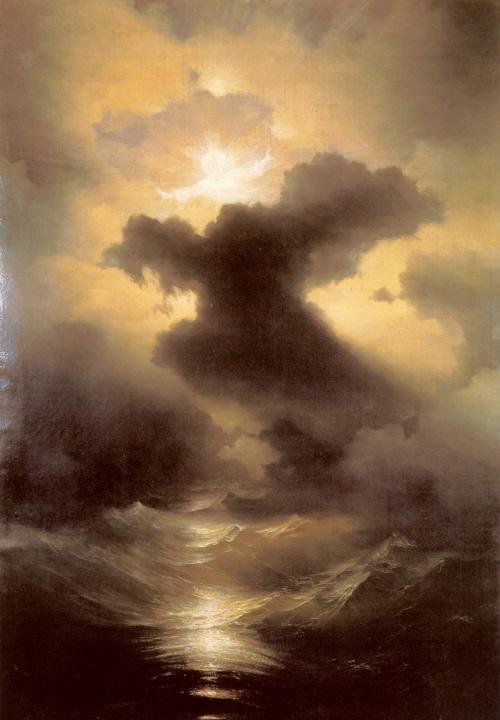 пейзаж Хаос (Сотворение мира) :: Айвазовский И.К. - Aivazovsky, Ivan Constantinovich фото