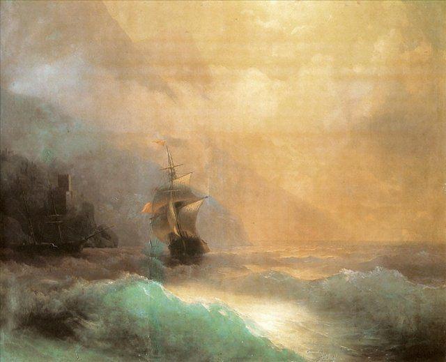 Морской пейзаж :: Айвазовский И.К. - Aivazovsky, Ivan Constantinovich фото