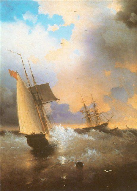 морские пейзажи Айвазовского - Aivazovsky, Ivan Constantinovich фото