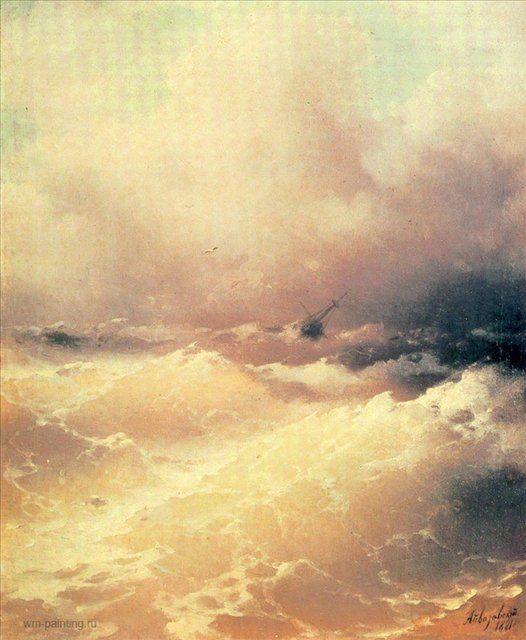 морской пейзаж Море :: Айвазовский И.К., картина, плюс статья про подарки - Aivazovsky, Ivan Constantinovich фото