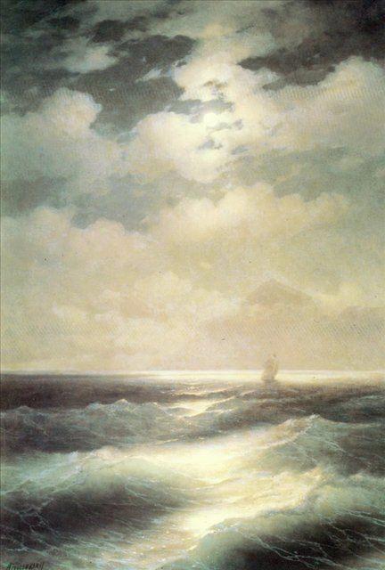 картина Морской вид при луне :: Айвазовский И.К. - Aivazovsky, Ivan Constantinovich фото