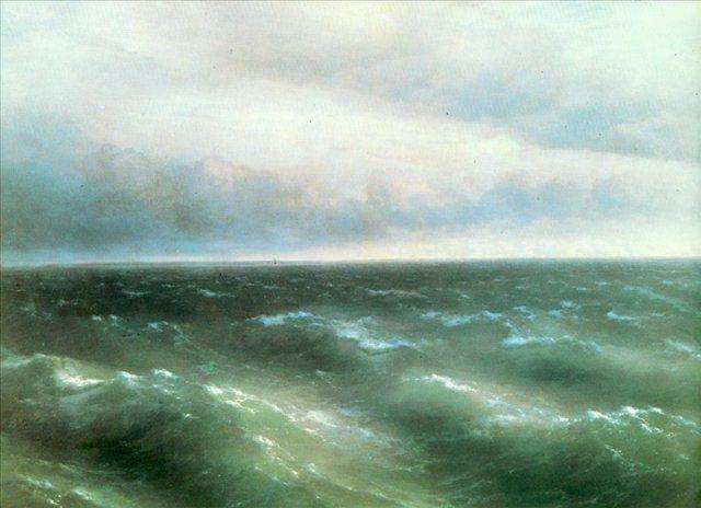 пейзаж Черное море :: Айвазовский И.К. - Aivazovsky, Ivan Constantinovich фото
