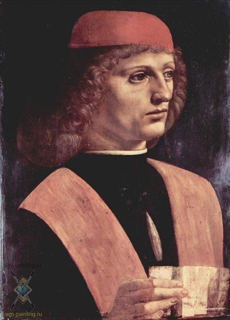 Портрет музыканта :: Леонардо да Винчи - da Vinci Leonardo фото