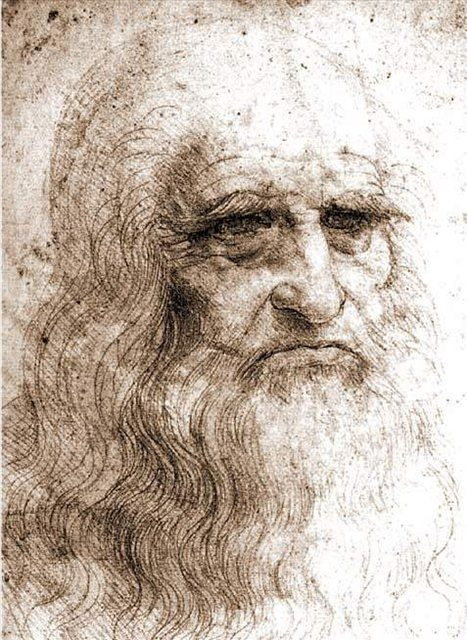 Биография и картины  Леонардо да Винчи :: Автопортрет - да Винчи, Леонардо фото