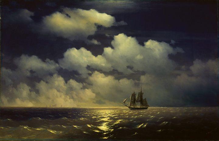 "������� ���� ""��������"" ����� ������ ��� ����� ��������� ������ ����������� � ������� �������� :: �����������, ���� ��������������, �������� ������� - �����������, ���� �������������� (  Aivazovsky, Ivan Constantinovich ) ����"