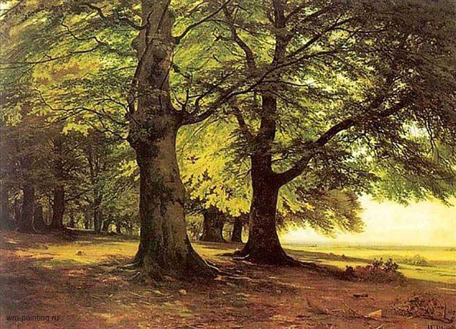 картина пейзаж Тевтобурский лес :: Шишкин И.И. - Ivan Shishkin фото