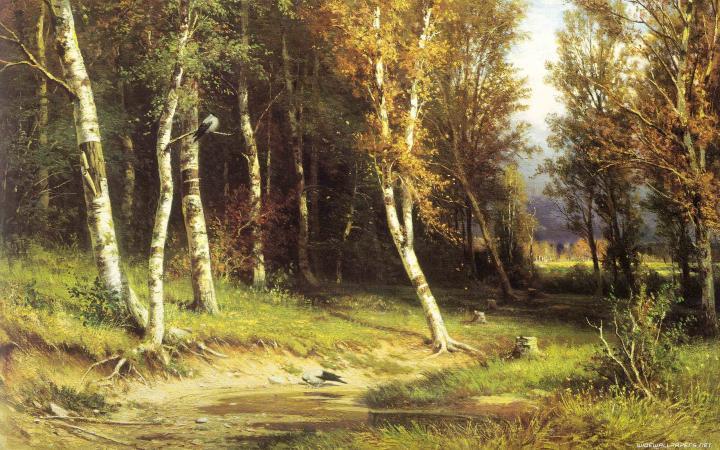 Лес перед грозой :: Шишкин И.И. ( Ivan Shiskin ) - Ivan Shishkin фото