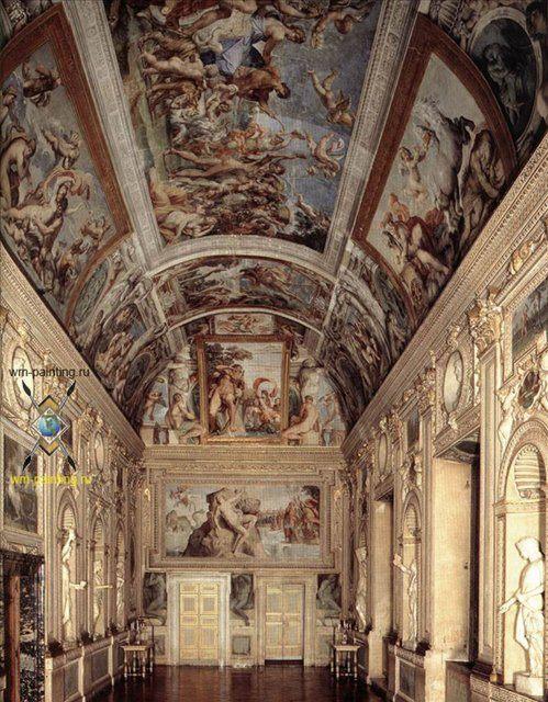 Фрески галереи Фарнезе :: Аннибале Караччи ( Annibale Carracci ) - Фрески, монументальная живопись, роспись стен фото