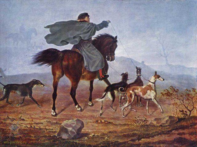 Выезд на охоту :: Крюгер Франц - Жанровые сцены фото