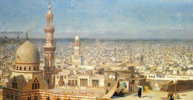 Вид на Каир :: Жероме Жан Леон - Архитектура фото