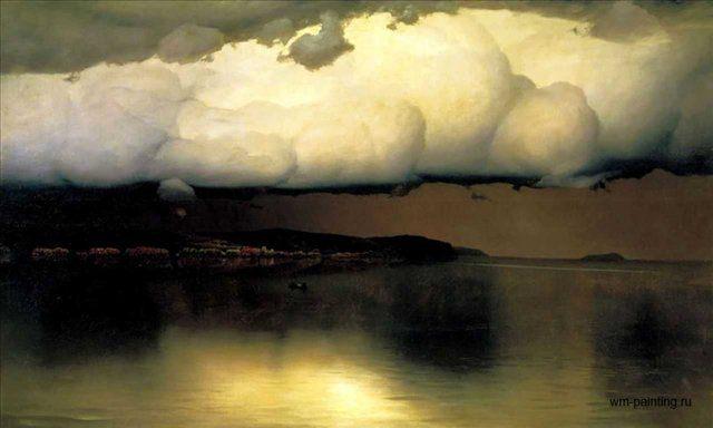 Притихло ::  Дубовской Н. Н. - Море в живописи ( морские пейзажи, seascapes ) фото