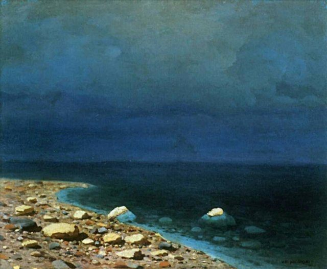 Море :: Куинджи А. И. - Море в живописи ( морские пейзажи, seascapes ) фото