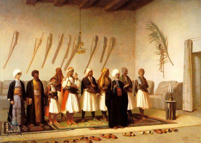 Молитва в доме :: Жером Жан-Леон ( Франция ) - Арабский восток фото
