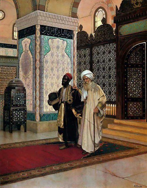 После молитвы :: Рудольф Эрнст ( Франция ) - Арабский восток фото
