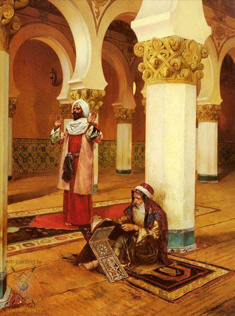 Вечерняя молитва :: Рудоль Эрнст ( Франция ) - Арабский восток фото