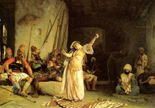 Танец живота :: Жером Жан-Леон ( Франция ) [ The Belly-Dancer ] - Арабский восток фото